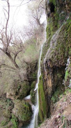 12. Водопад Зелената стена край Крушуна