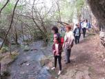 14. по реката, извираща от пещера Урушка маара