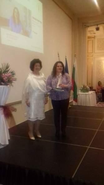 Първо място и статуетка в категория Професионалист по здравни грижи - 2016 за Емилия Мирчева