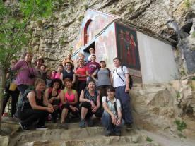 17 скален манастир Св.Марина
