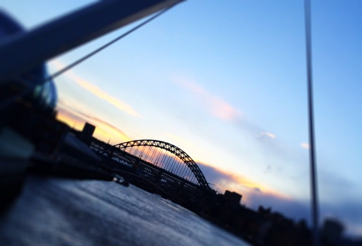 Quayside Newcastle - 7 bruggen