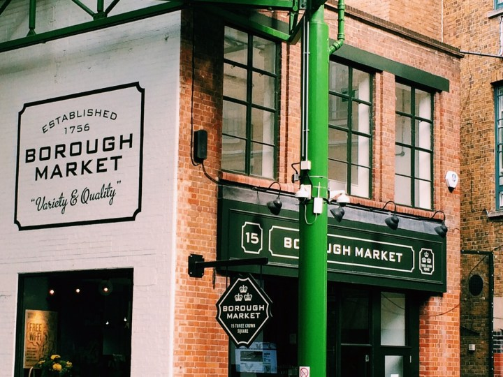 Borough Market Londen