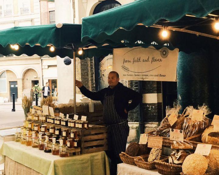 Borough Market Londen