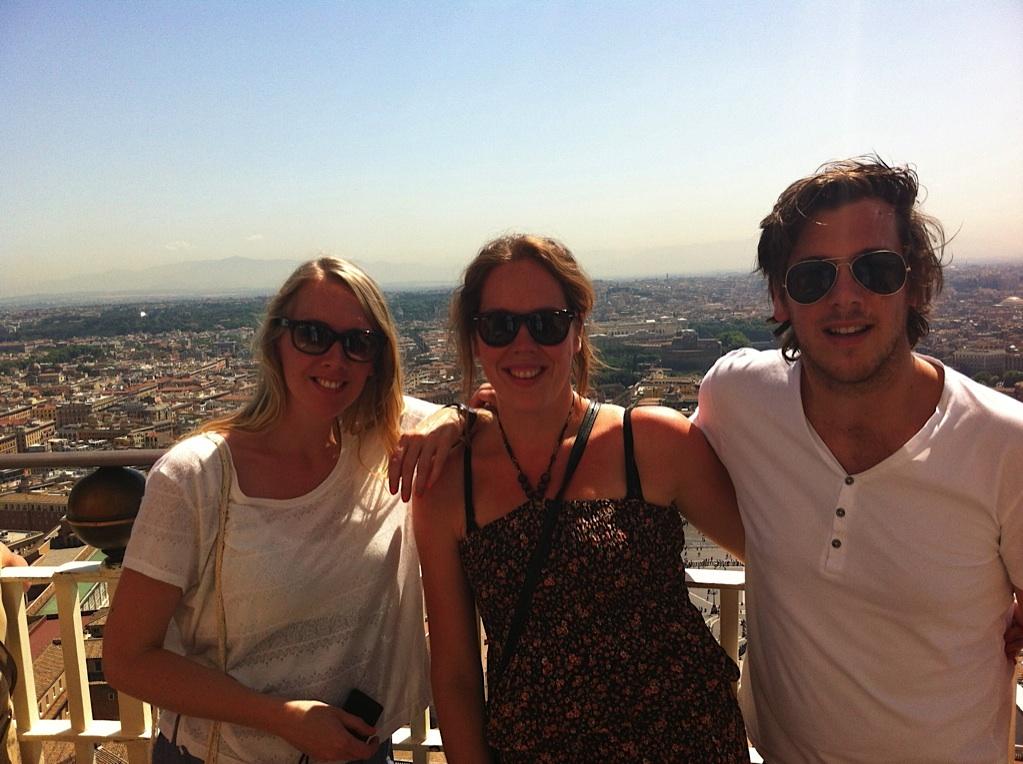 Uitzicht St. Pieter Vaticaan