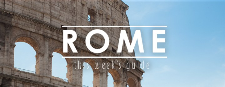 Weekendje weg Rome