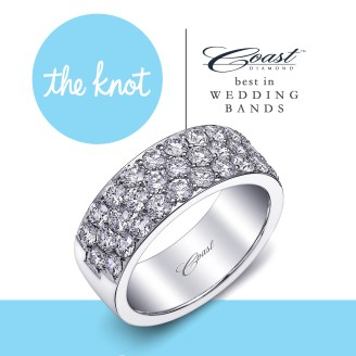 The_Knot_Best_Band Coast Diamond Wedding and Engagement Rings