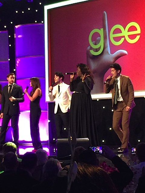 Glee Cast Performs at FEC Gala
