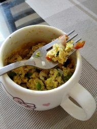 microwave mug recipe, egg burji recipe, how to make eggs in microwave, anda burji recipe