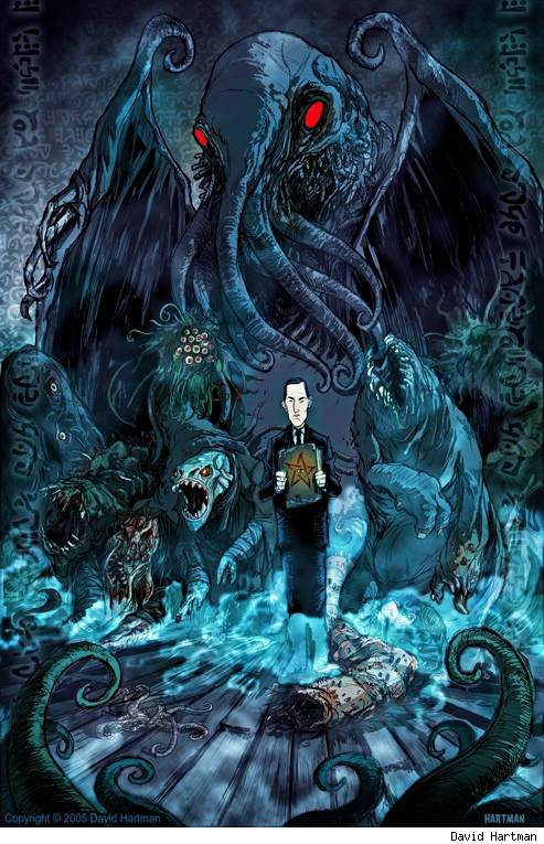 HP Lovecraft And HR Giger How Their Dreams Became Our