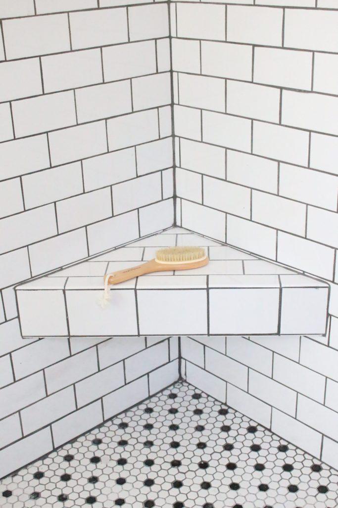 a shower bench