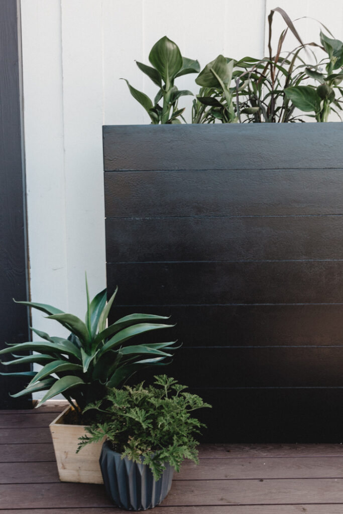 how to build a large planter box love