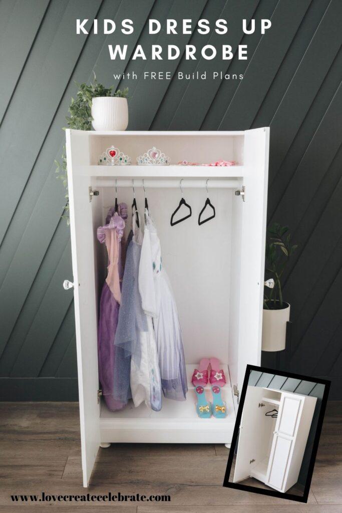 Kids Dress Up Wardrobe Love Create Celebrate