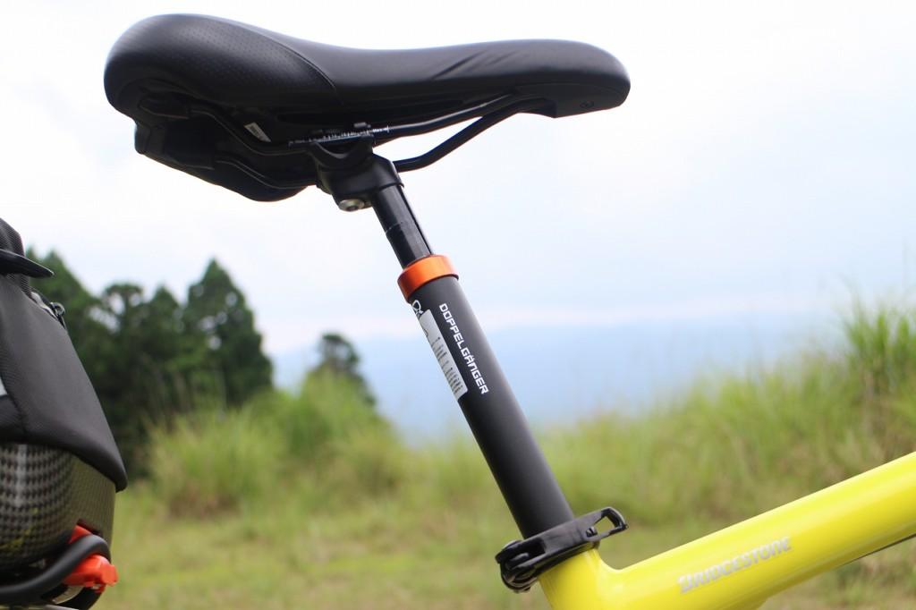 自転車のサドル サスペンションのシートポストを使ってみた お尻の痛み軽減効果も