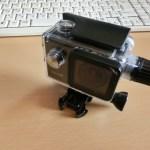 自転車とアクションカメラとバッテリー (その1)