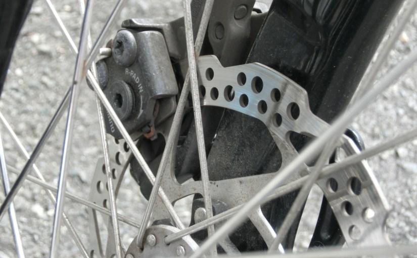 自転車のディスクブレーキパッド交換してみた