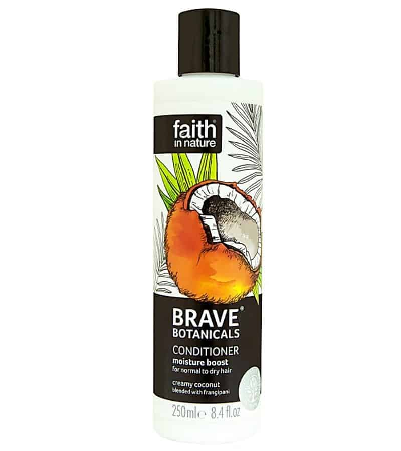 faith in nature conditioner curly girl approved