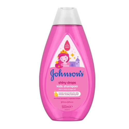Johnson's Baby Shiny and Soft Kids' Shampoo curly girl method for kids
