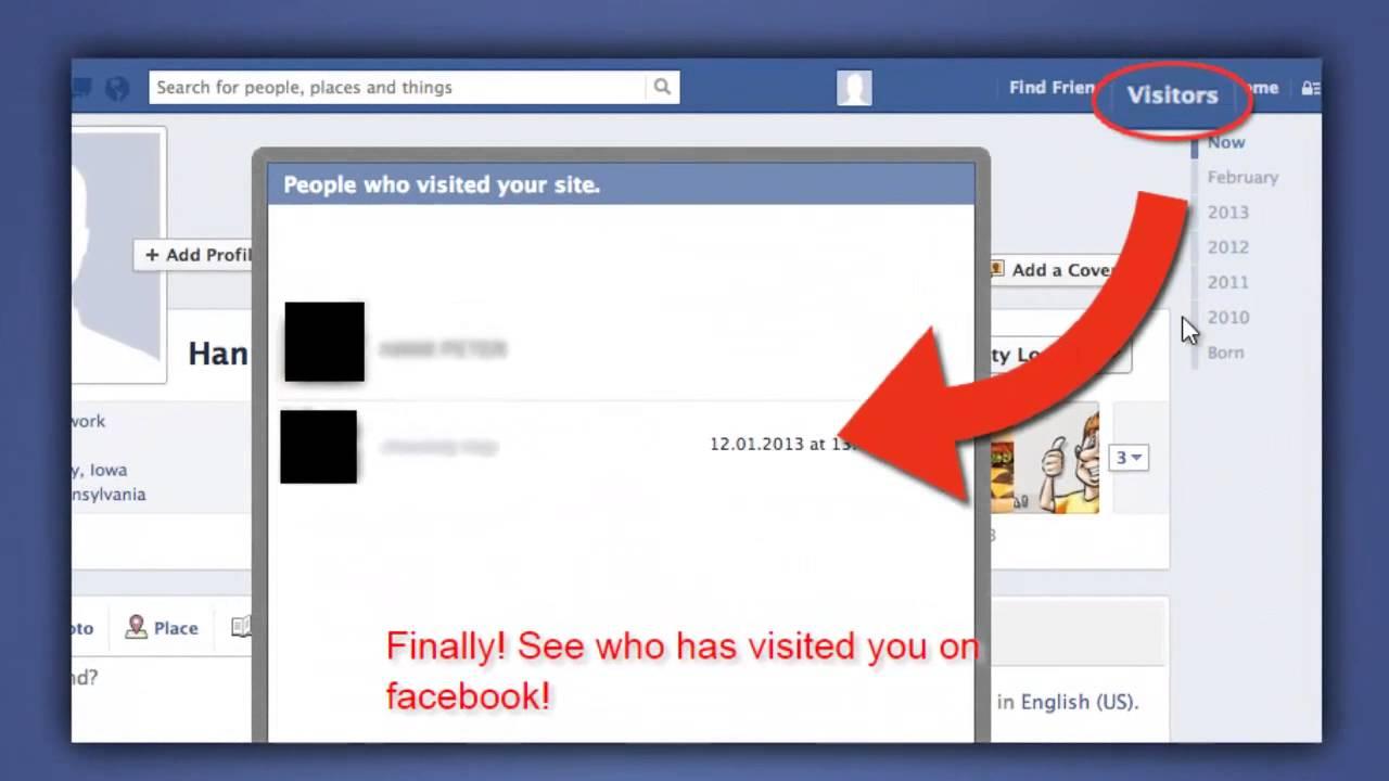 طريقة معرفة من زار بروفايلك في الفيس بوك كيف تعرف من يزور
