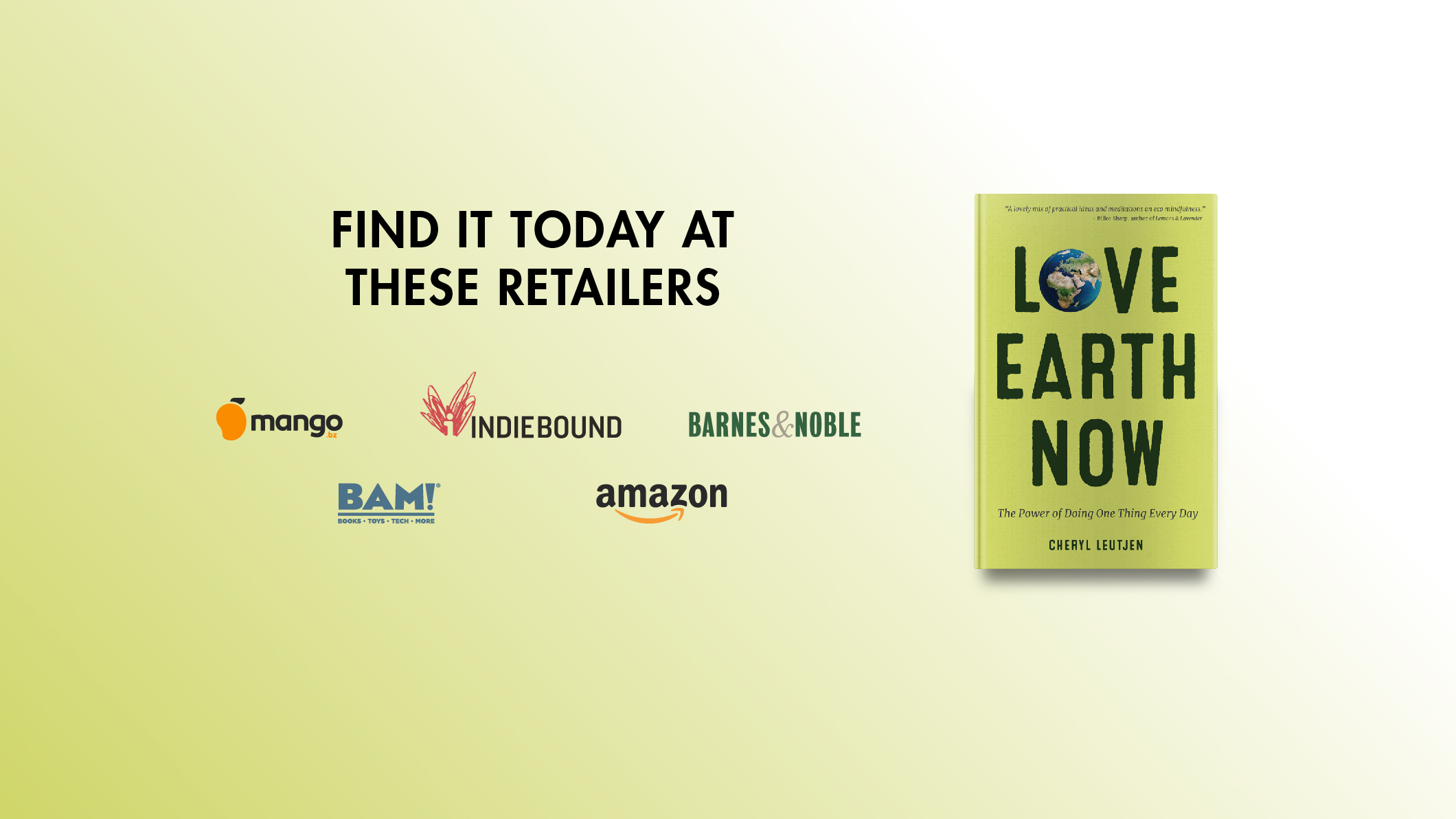 """<em style=""""color:ffffff"""">Love Earth Now</em><br>is available at these retailers"""