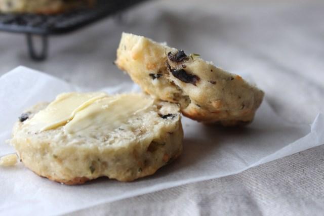 Garlic Mushroom Scones4