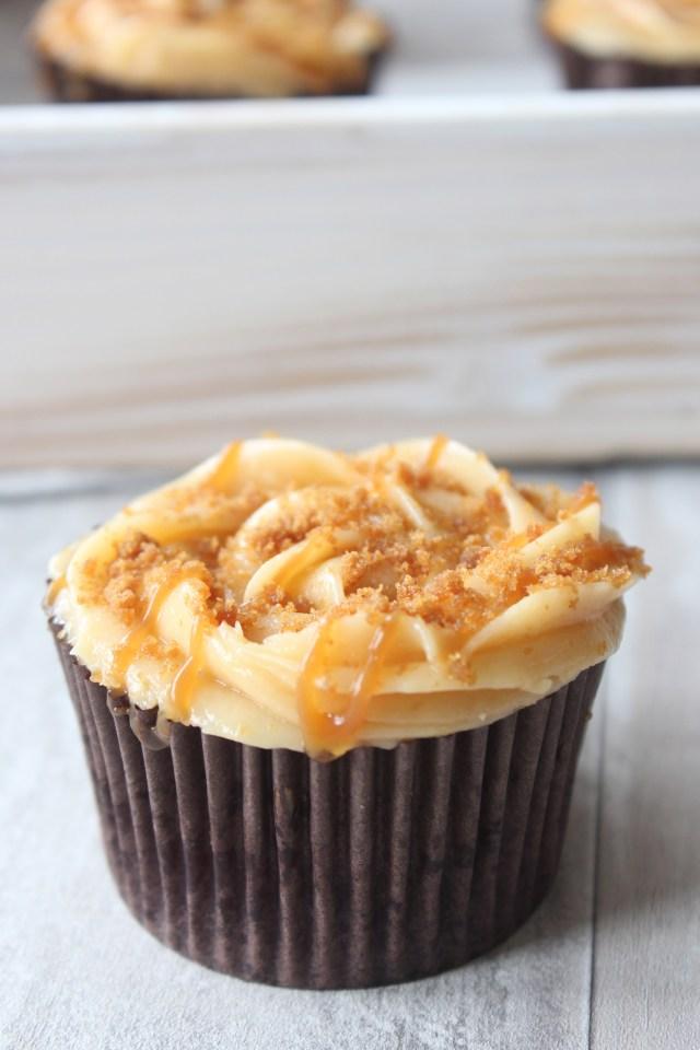 caramel-cupcakes