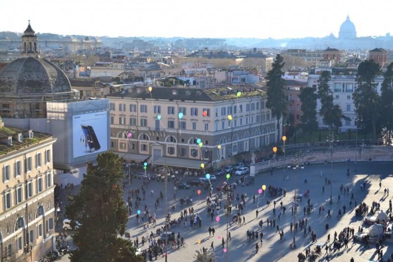 Pincio Piazza del Popolo Roma