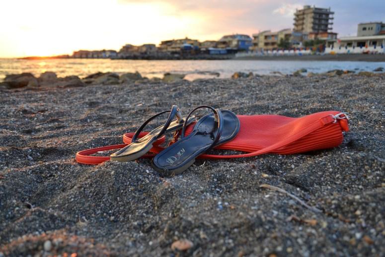 Czarne plaże Ladispoli
