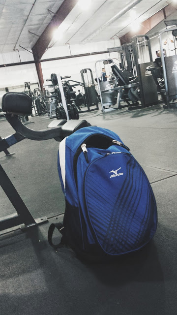 flex friday: what's in my gym bag?