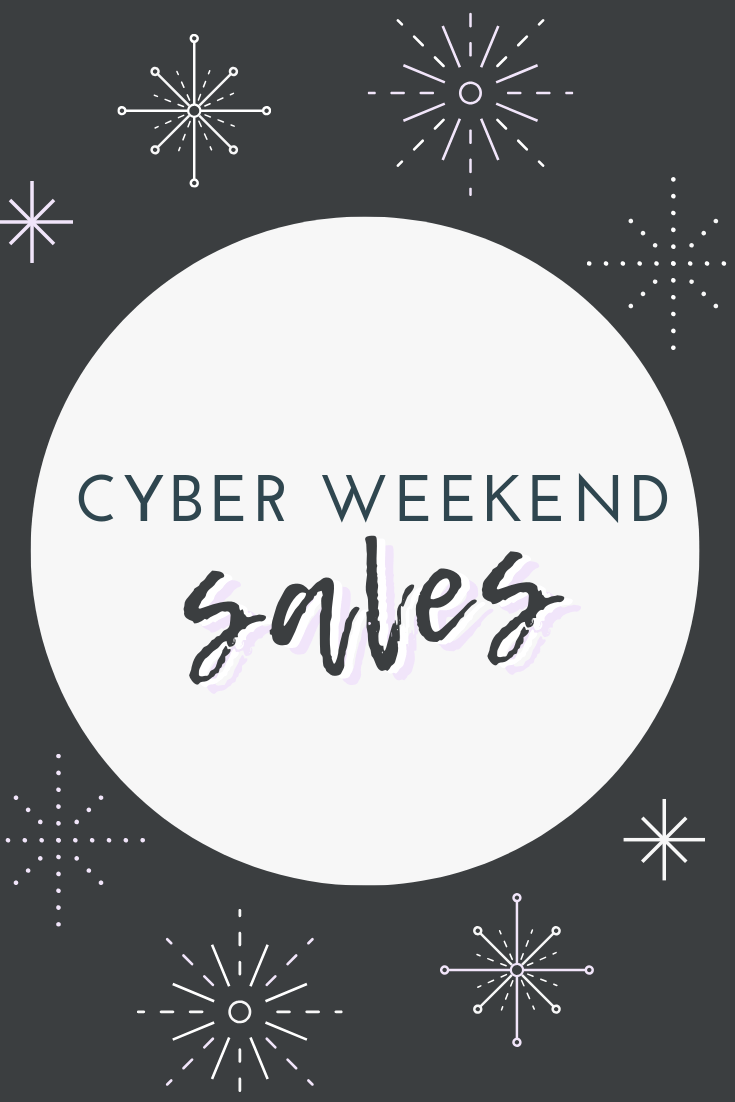 cyber week black friday sales