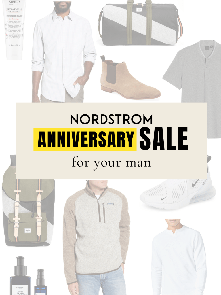 nordstrom anniversary sale for man