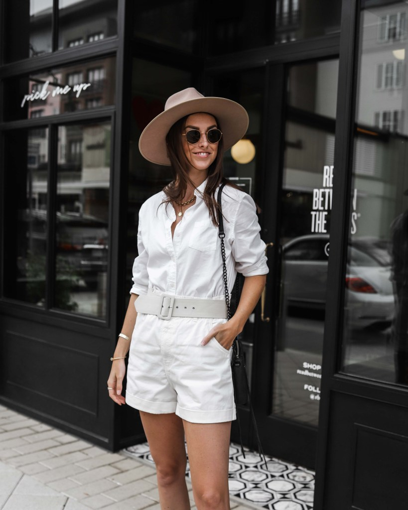 how to wear white in the fall all white outfit