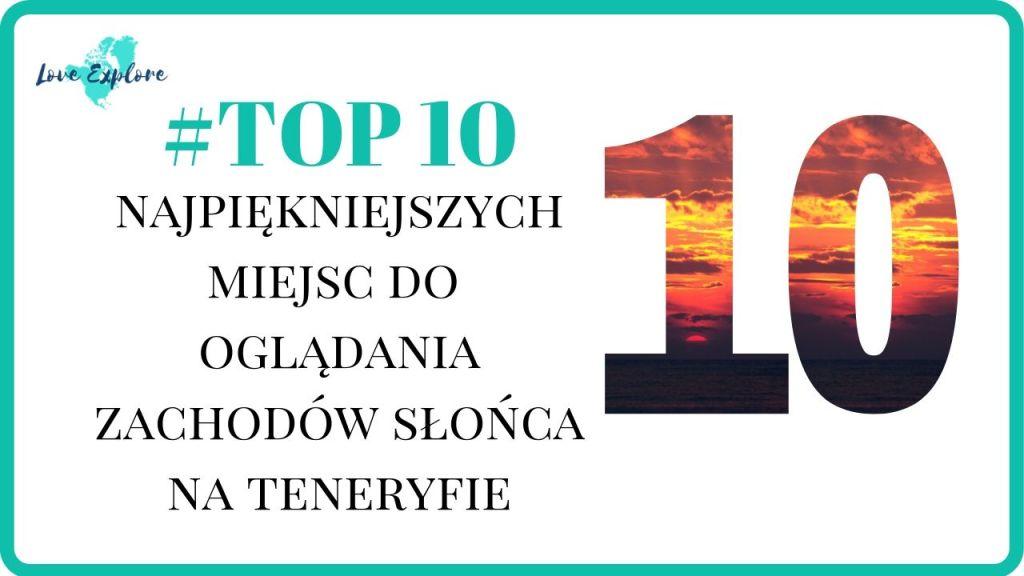 top10 zachodów słońca