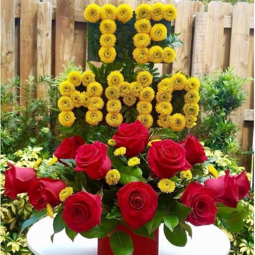 TE AMO Love Flowers