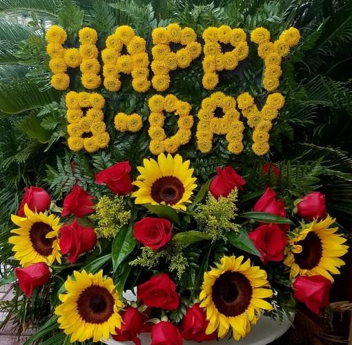 Happy BDAY Sunflowers