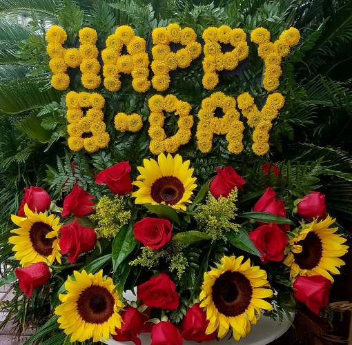Happy BDAY Sunflowers