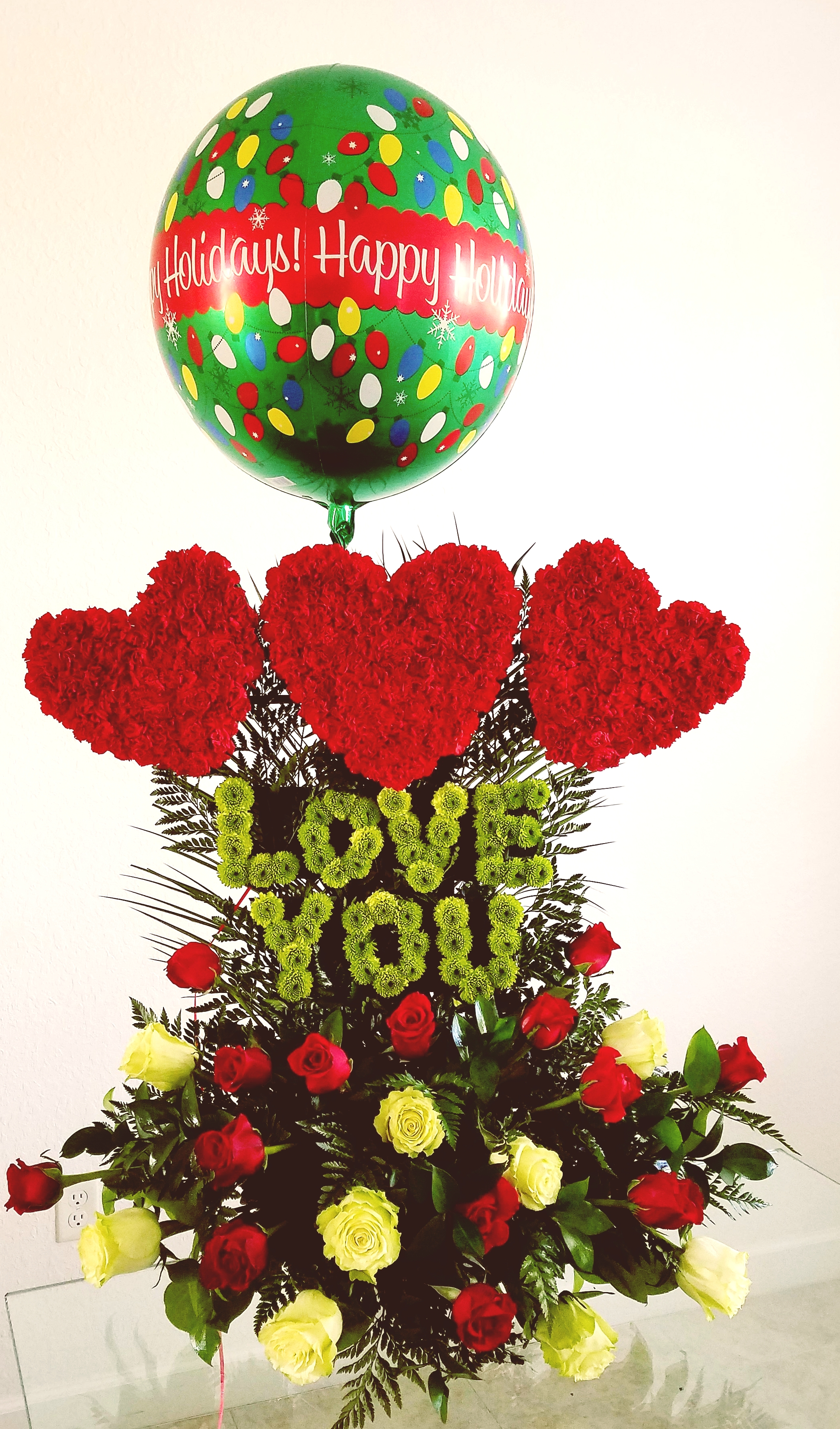 Love You In Christmas Love Flowers Miami