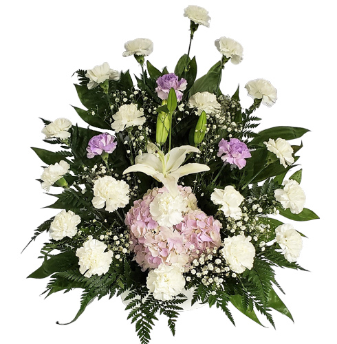Pure Love Funeral Flower