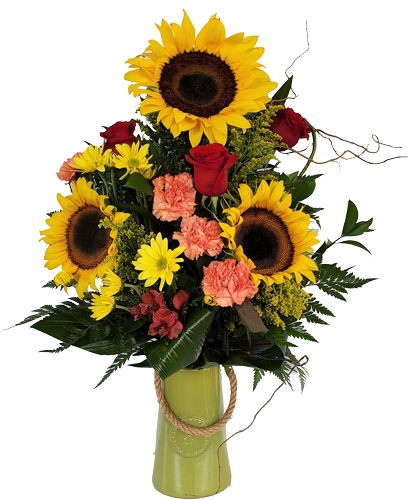 Sunflower-Rustic Birthday Flowers