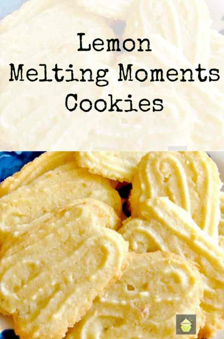 25 Last Minute Christmas Cookie Ideas. Lemon Melting Moments.