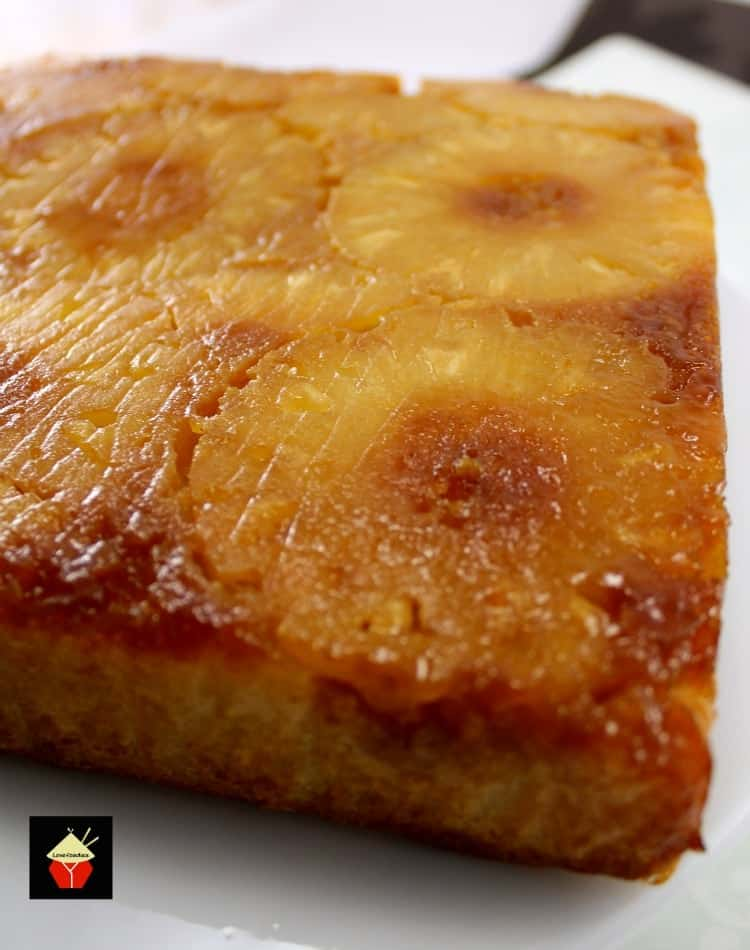 Easy Pineapple Upside Down Cake Lovefoodies