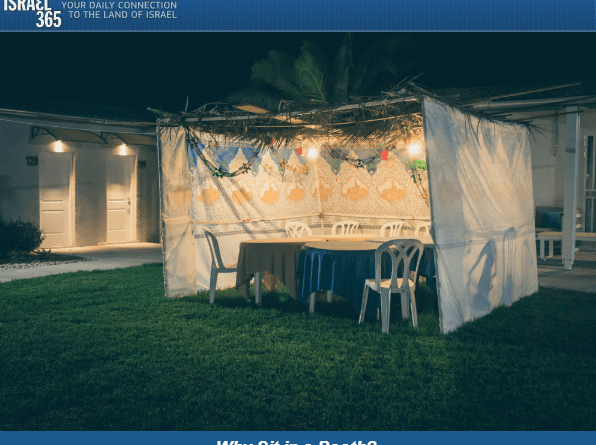 ✡What is with all the booths? – Israel365