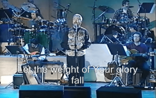 LoveMusic! – Let the Weight of Your Glory Fall – by Paul Wilbur