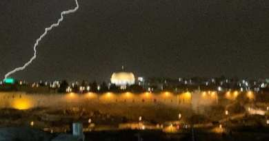 Lightning Strikes Mosque on Temple Mount – Breaking Israel News