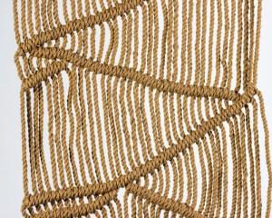 Masaya Macrame Wall Hang Khaki Made in Nicaragua