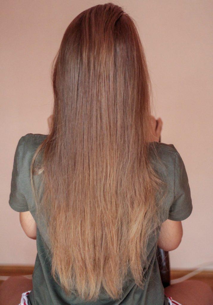 lange Haare kaputt
