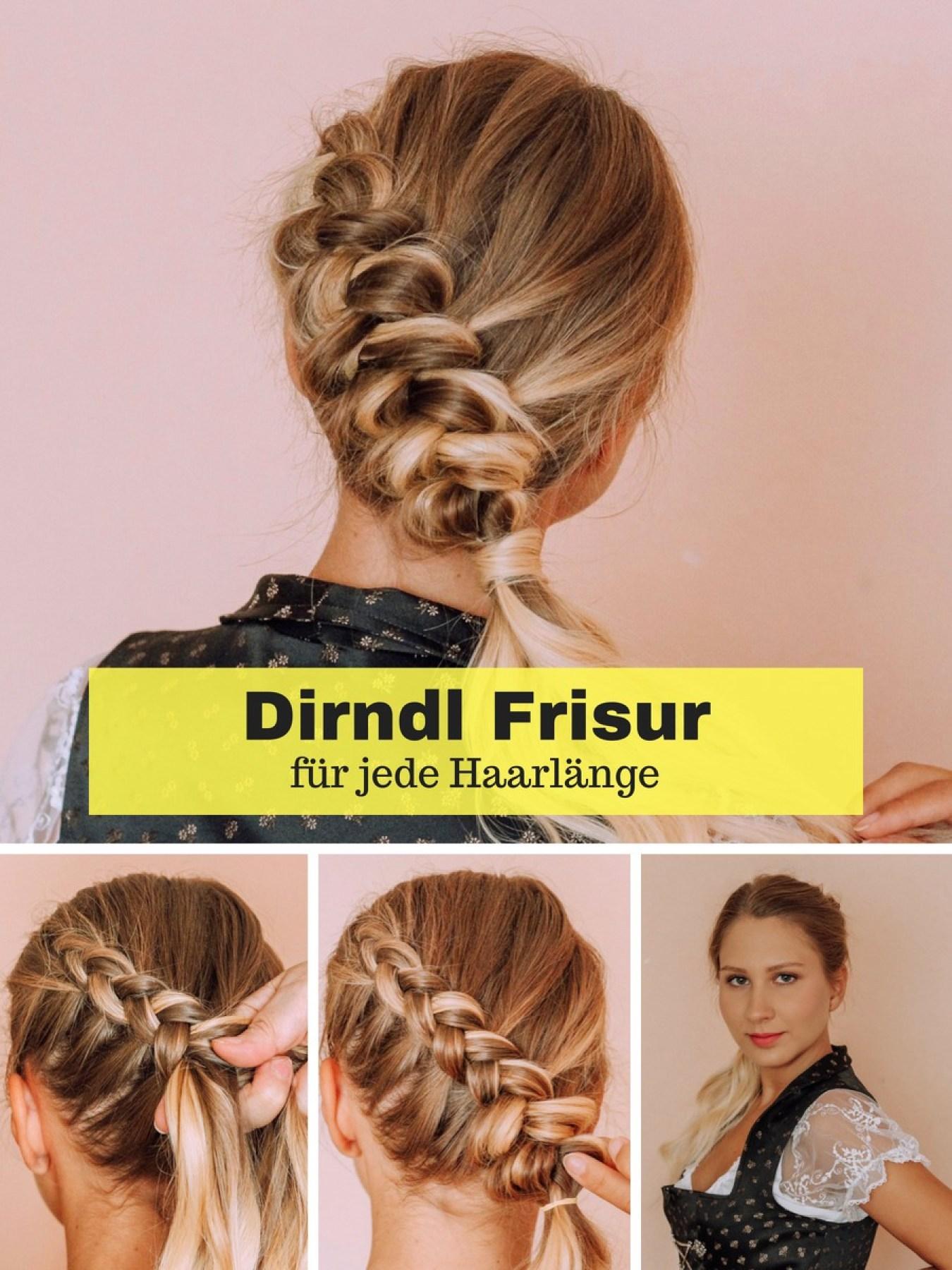 Dirndl-Frisur