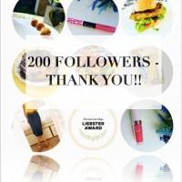 200 Followers -Woweeeee!