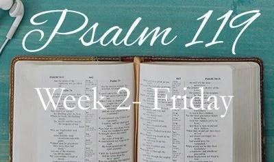 Revive Me- Psalm 119:25-48