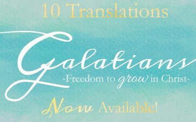 Announcing {Galatians} resources in TEN TRANSLATIONS!