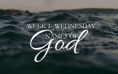 More Than Enough- Wednesday Week 1